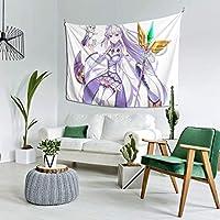 自然風景 異世界生活のレム5 多機能 タペストリー インテリア 壁掛け おしゃれ 室内装飾タペストリー カバー カーテン ウォールアート 布ポスター カーテン カスタマイズ可能