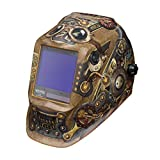 Lincoln Electric K3428-4 VIKING 3350 Auto Darkening Welding Helmet with 4C Lens Technology, Steampunk