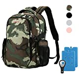 OUTXE Cooler Backpack Insulated Cooler Bag 22L for 15' laptops Lunch Backpack,Camo