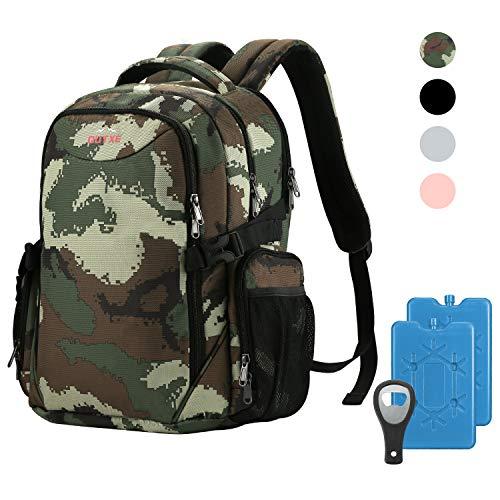 OUTXE Nylon-Kühler-Rucksack, isoliert, Kühltasche für Laptops 22L