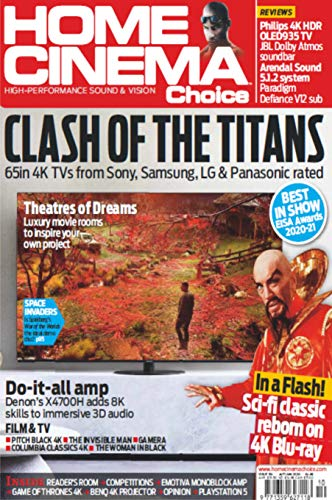 Home Cinema Choice Magazine - Clash of Titans (English Edition)