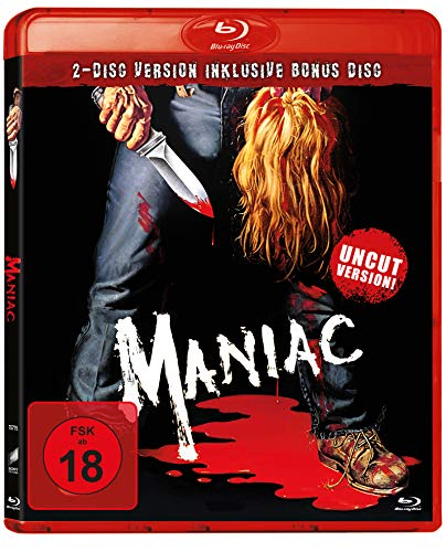 Maniac (Uncut Version inkl. Bonus Disc) Blu-ray