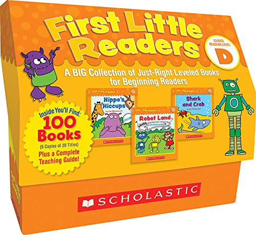 scholastic book sets Scholastic First Little Readers, Set of 100, Level D