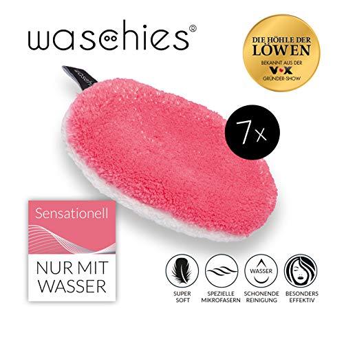 waschies Abschminkpads waschbar, Wiederverwendbare Abschminktücher und Kosmetikpads zur Make-Up...