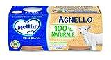 Mellin Omogeneizzato Agnello - 24 Vasetti da 80 g