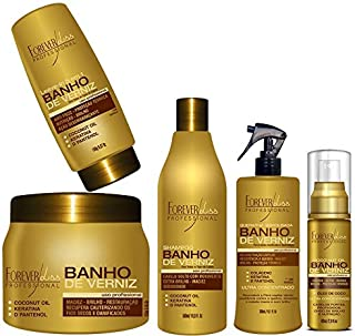 Kit Completo Banho de Verniz 250g - 5 Itens