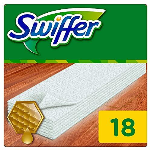 Swiffer – Navulling van droge vloerdoekjes, 1 pak van 18 doekjes