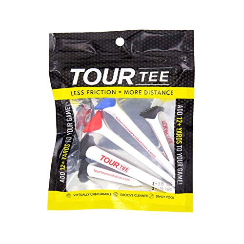 TOUR TEE CMC Design Golf Tee Combo Pack | Add Distance and Control |...