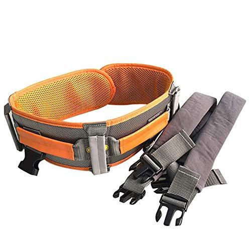 LOVEHOUGE Cinturón de Transferencia de cinturón de Marcha para Uso médico con 6 Asas y Hebilla de liberación rápida, para bariátrica, Ancianos, discapacitados,XL