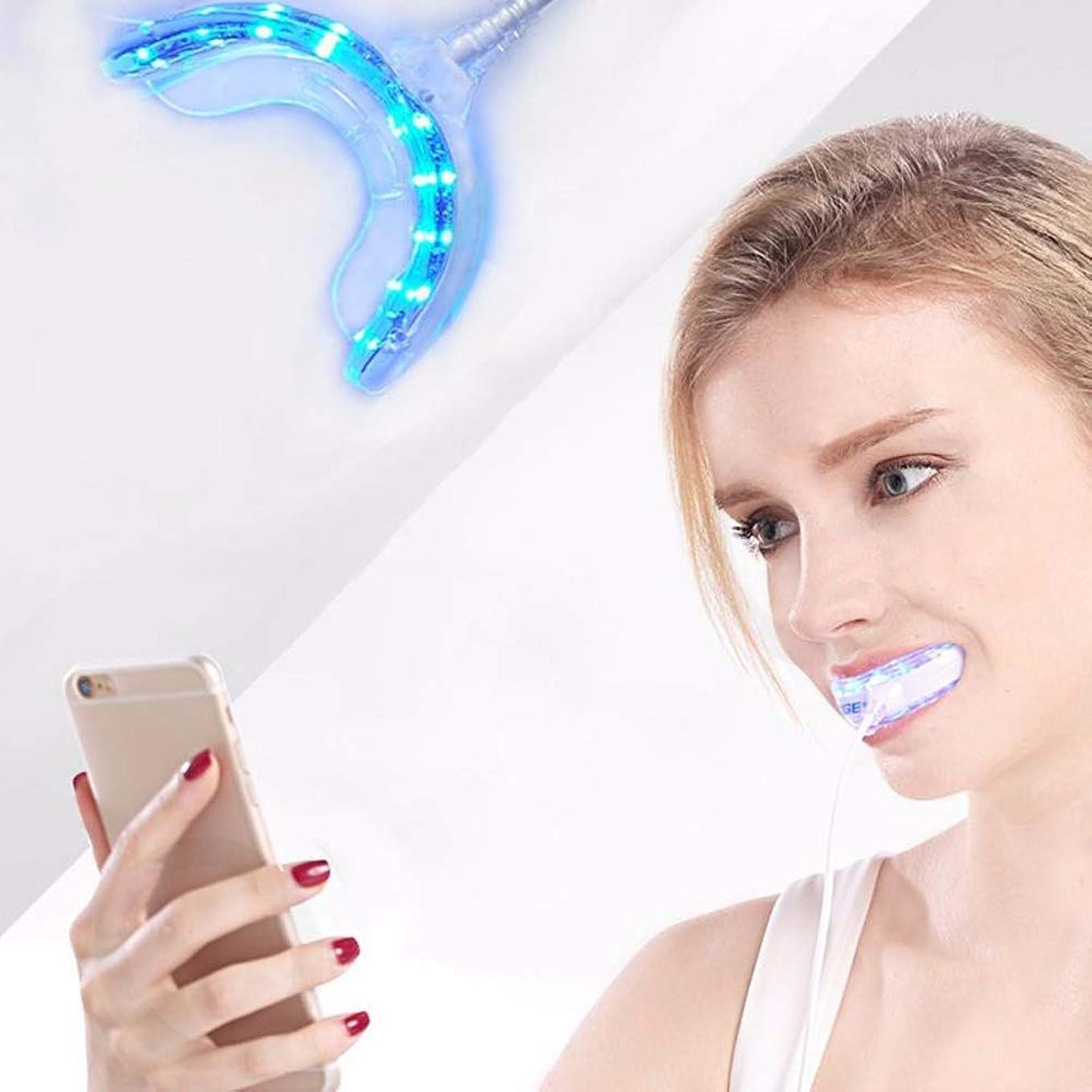 ビーチ虎蓄積する人間の特徴をもつIOSの歯科漂白システム防水歯を白くするための装置3 USB港を白くする携帯用スマートなLEDの歯