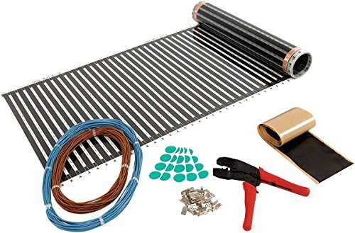 Flexel ECOFILM PRO elektrische vloerverwarming en regelaars