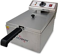 Fritadeira Elétrica Skymsen FE-10-N 5L Inox 1 Cuba