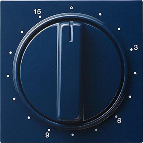 Gira 064046 Abdeckung Zeitschalter 15 Min S, blau