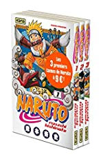 Pack tome 1 + tome 2 + tome 3 de Naruto de Masashi Kishimoto