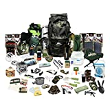 Prep Store Elite Plus - Emergency Survival Pack - 4 Day Food Supply - 96 Hour - Survival Kit - Bugout Bag - Hurricane Emergency Kit - Survival Bag - Bug Out Bag (Elite Plus KIT)