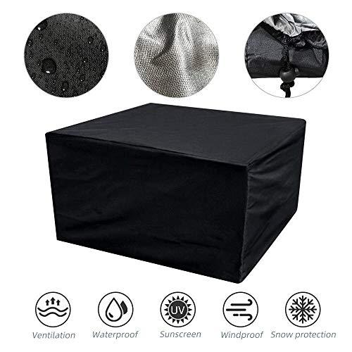 Resistente al Polvo Anti-UV Funda Protectora para Muebles de jardín,Cubierta de muebles de tela Oxford 420D, cubierta antipolvo para mesas y sillas-420D_213 * 132 * 72,cubierta para exteriores