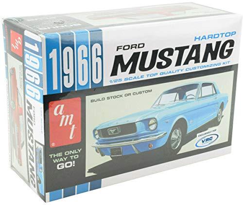 AMT/VRC Hobbies 1966 Ford Mustang Hardtop 1:25 Scale Plastic Model Car Kit 704