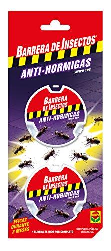 Compo Repelente Barrera de Insectos Cebo antihormigas, Control de Hormigas en el salón, Comedor y terraza, 2 Unidades de 10 g
