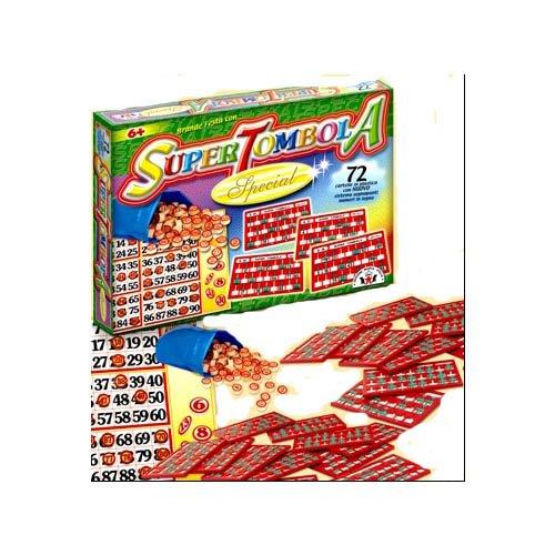 Arti Grafiche Ruggero Sala Srl - Societa  Uniperso- Arti GRAFICHE RUGGERO Tombola Special (72) Giochi da Tavolo, Multicolore, 812025