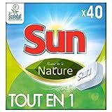 Sun Tout-En-1 Tablettes Lave-Vaisselle Ecologique Pouvoir de la Nature Eco-Label 40...