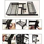 Chun-li-304-Stainless-Steel-Dry-Dish-Rack-Cutting-Board-Rack-And-Kitchen-Drain-Rack-For-Kitchen-Countertops-Black