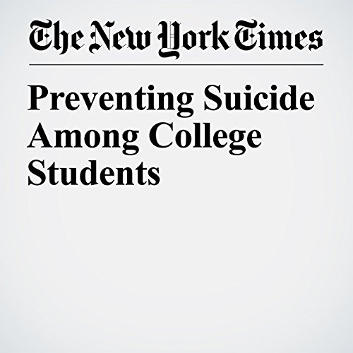 Preventing Suicide Among College Students copertina