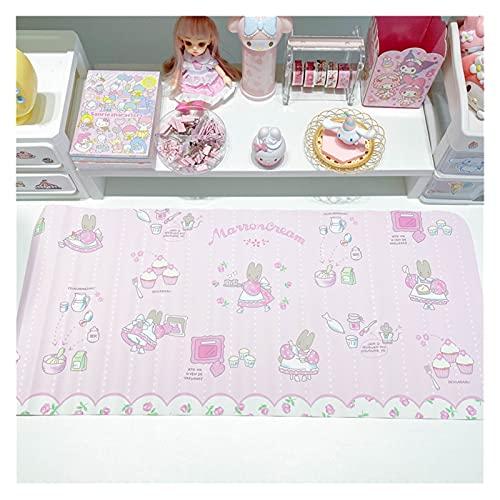 Alfombra de escritorio Escritorio japonés impermeable almohadilla de escritura alfombrilla de ratón animales patrón de perro patrón de dibujos animados niña alardeada de escritorio Foto de fondo