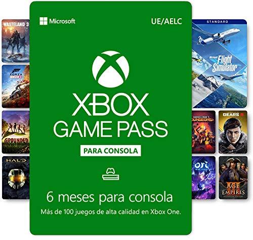 Suscripción Xbox Game Pass - 6 Meses   Xbox Live - Código de descarga
