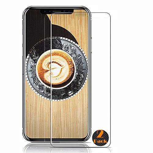 RUIST iPhone XR Schutzfolie,Panzerglas iPhone XR,[2 Stück] Schutzglas Panzerschutz Folie Glas 9H [2.5D] Panzerfolie Glasfolie Displayschutz für Apple iPhone XR