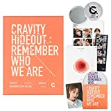 CRAVITY Season1. Album - HIDEOUT : Remember Who We Are [ Ver. 3 ] CD + Photobook + Photo Cards + Sticker + FREE GIFT / K-POP Sealed