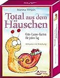 Total aus dem Häuschen: Gute-Laune-Karten für jeden Tag - 44 Karten mit Anleitung