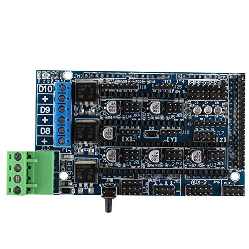Jopto Stampante 3D Rampe 1.5 Controller Scheda di Espansione Pannello di Controllo per Reprap Prusa Mendel Arduino Rampe 1.4 Sostituzione