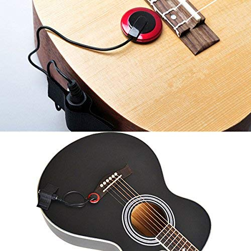 Silenceban Contact Banjo Violin Ukulele Mandolin Microphone Piezo Pickup...