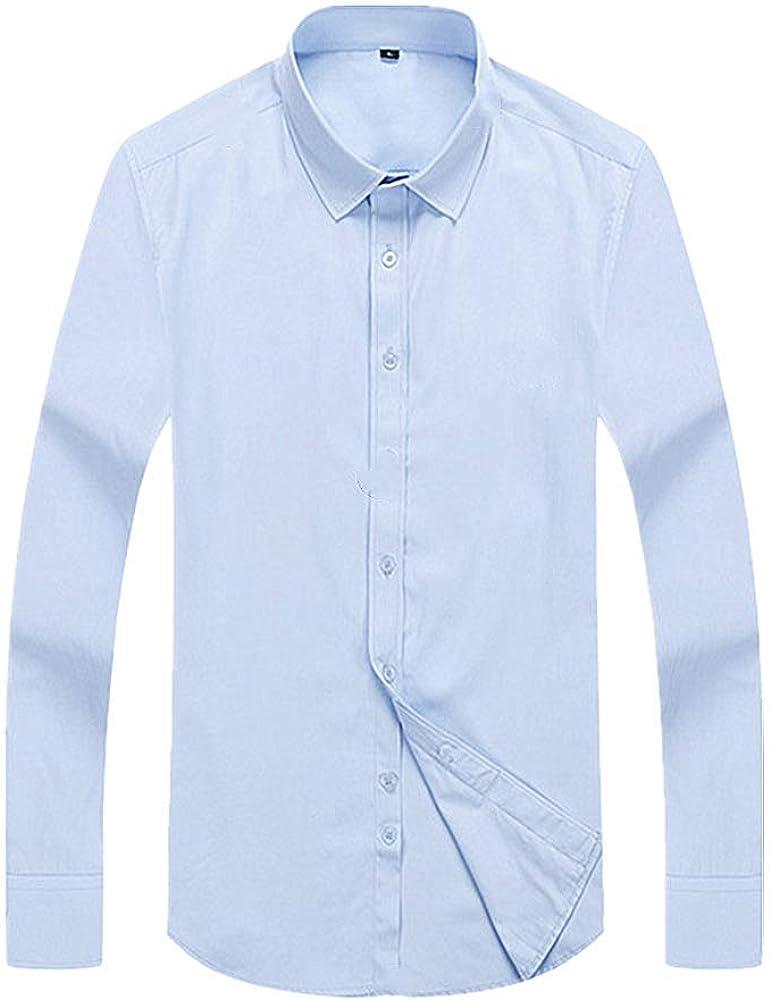 U/A Four Seasons - Camisa de manga larga para hombre Azul Sin ...