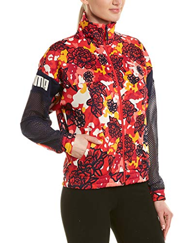 PUMA Flourish Touch of Life Jacket Hibiscus Multi XS
