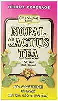 海外直送品Nopal Cactus Tea, 20 bag by Only Natural