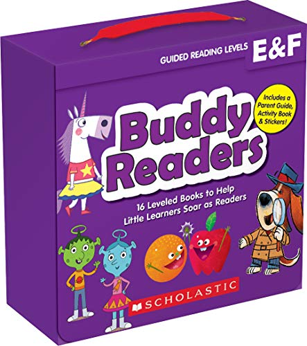 Buddy Readers: Levels E & F (Parent Pack): 16 Leveled Books to Help Little Learners Soar as Readers
