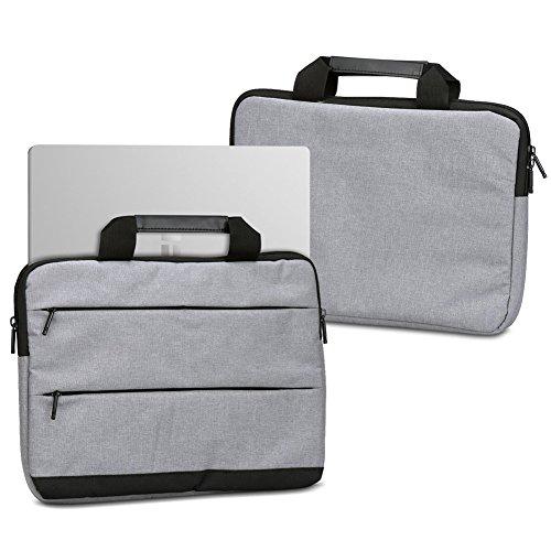 UC-Express Laptophülle Schutzhülle für TrekStor SurfTab Twin 11.6 Sleeve Tasche Notebooktasche Schutzcase, Farbe:Grau