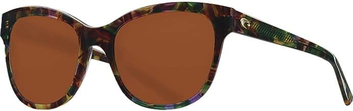 Costa Del Mar Bimini Sunglasses Shiny Vintage Tortoise/Copper 580Glass