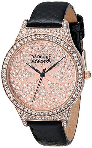 Badgley Mischka Watches BA/1348PKBK