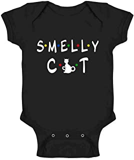 Smelly Cat Funny Retro 90s Infant Baby Boy Girl Bodysuit