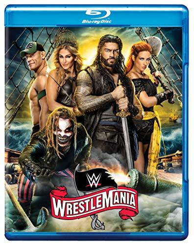 WWE レッスルマニア36 Blu-ray リージョンA(国内プレーヤーで再生可能)※日本語字幕なし 【コロナウイルスの影響で初の無観客でのレッスルマニア、アメリカンバットアスあり、エッジあり、見逃せないビックマッチ多数!】