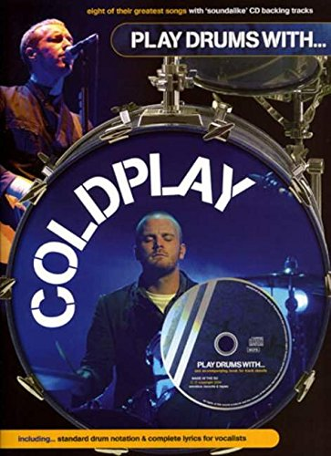 Play Drums With... Coldplay (Book, CD): Stimme(n), CD für Schlagzeug