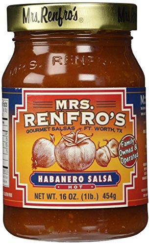 Mrs. Renfro's Hot Habanero Salsa (1 x 16oz)
