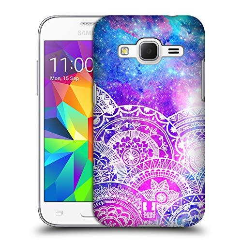 Head Case Designs Galassia Mandala Sogno Doodle Cover Dura per Parte Posteriore Compatibile con Samsung Galaxy Core Prime