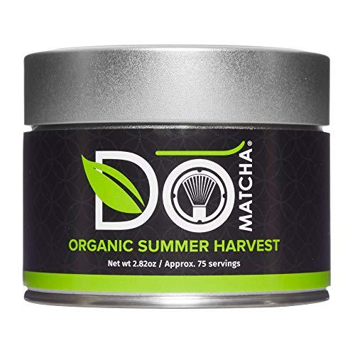 DoMatcha, Organic Summer Harvest Matcha Powder, Authentic Japanese Green Tea, Latte Grade, 2.82 oz