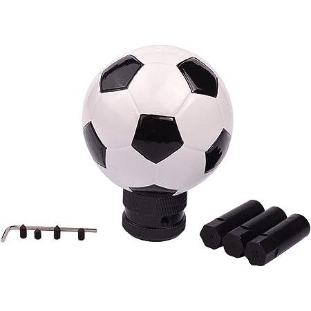 Sport Family 1pcs Schwarz Ball Shape Universal Auto Schaltknauf Schaltkopf Für Manuelles Oder Automatisches Getriebe Ohne Sperrknopf Auto