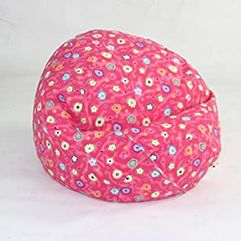Bean Bag with a Floral Print