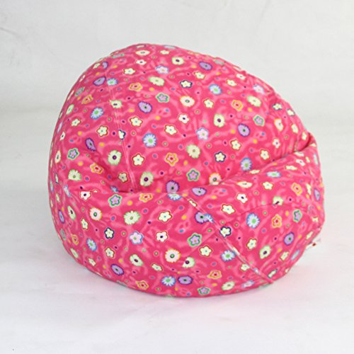 American Furniture Alliance Pink Flower Child-Bean-Bag, Jr