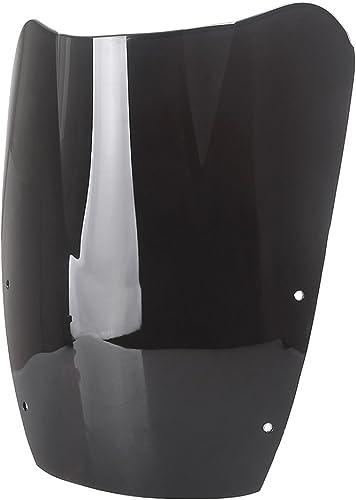 Mallofusa Motorcycle Windscreen Windshield Compatible for Suzuki GSX600F/750F 1987 1988 1989 1990 1991 2992 1993 1994 1995 1996 1997 Black